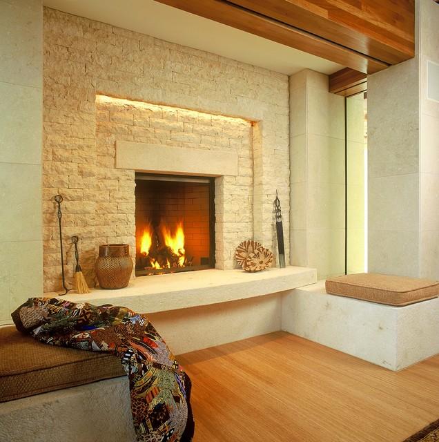 Montecito Residence modern-living-room
