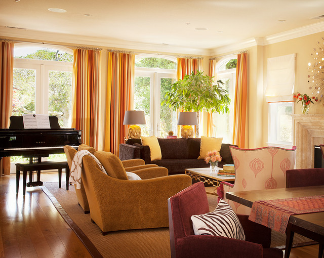 Monterey Luxe traditional-living-room
