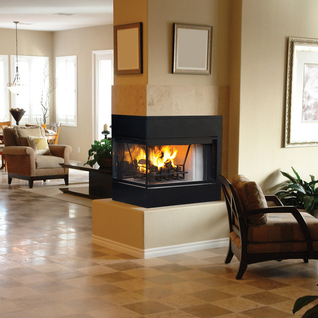 Monterey peninsula wood burning fireplace collection by for Astria fireplace