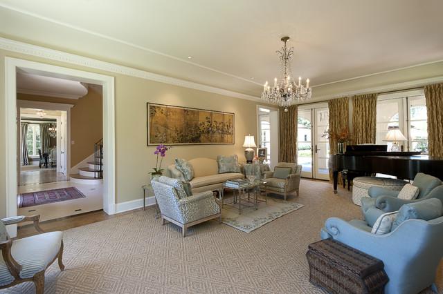 Monticello Drive mediterranean-living-room
