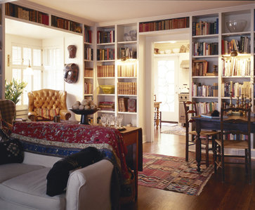 traditional living room by Bosworth Hoedemaker
