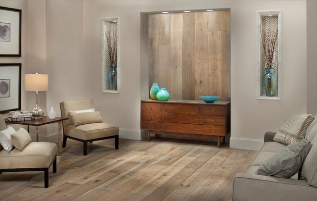 Montpellier Oak Engineered Hardwood Living Room