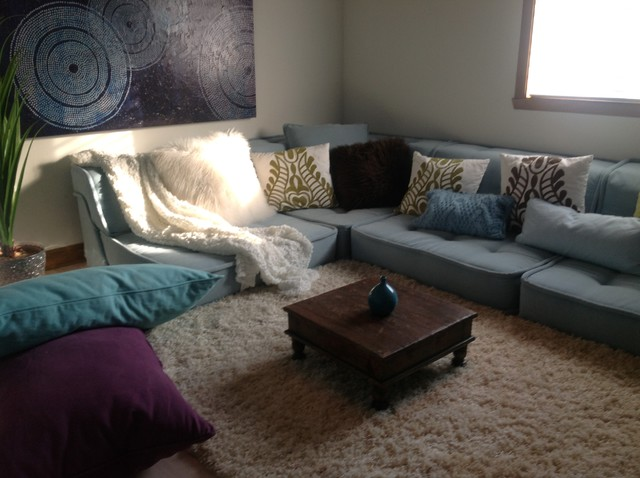 Montreal Teen Lounge Space - Contemporary - Living Room ...