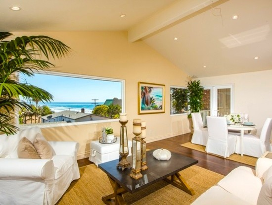 Moonlight Beach Encinitas Ca Beach Style Living Room San Diego By Homescapes San Diego