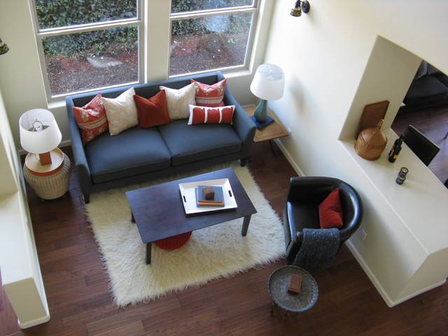 Moorish inspired decor Great Room eclectic-living-room