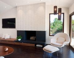 Moraga Residence midcentury-family-room