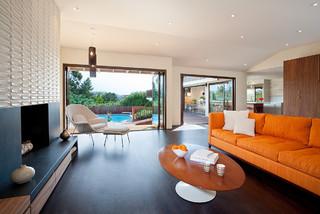 Moraga Residence midcentury-living-room