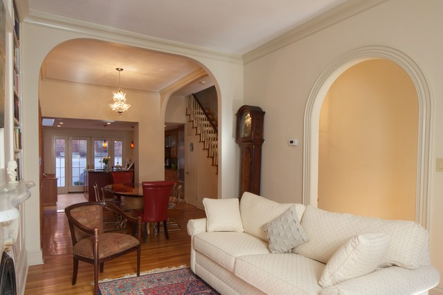 More Arches Contemporary Living Room Philadelphia By Dovetail Group LLC