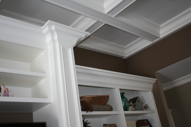 More customized molding moulding ideas for Crown molding ideas living room