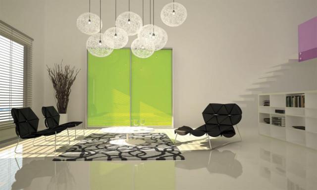 MORE SLIDING DOORS contemporary-living-room
