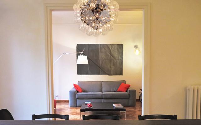 Morgagni Flat contemporary-living-room