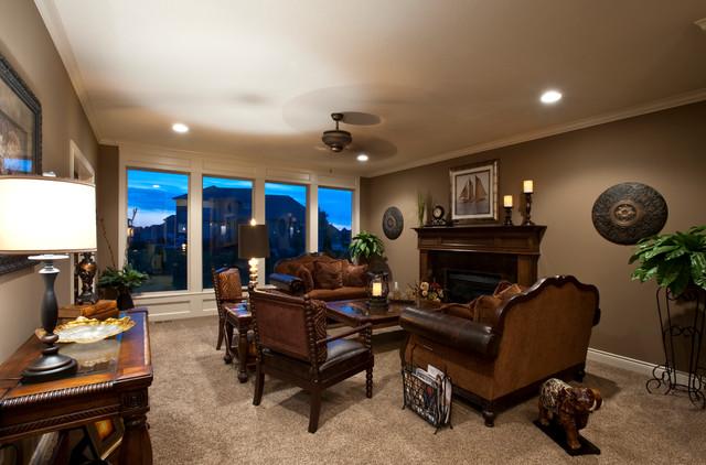 Morgan Plan traditional-living-room