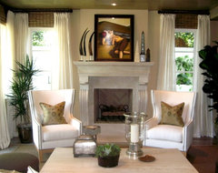 D for Design - Morning Canyon -  Corona del mar Ca. mediterranean living room