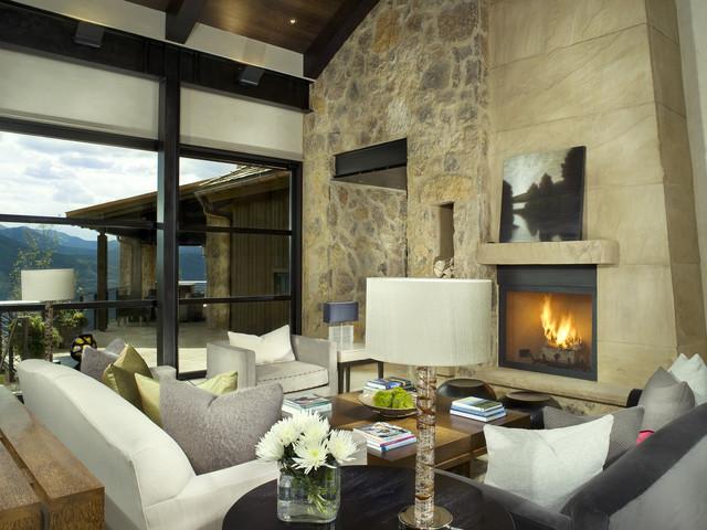 Morning Star Residence modern-living-room