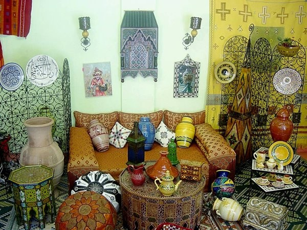 Moroccan decor for Moroccan style home accessories