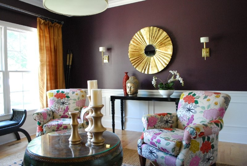 Moroccan Living Eclectic Living Room St Louis By Cure Design Group