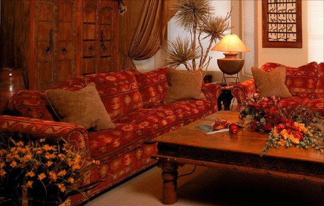 Moroccan Living Room mediterranean-living-room