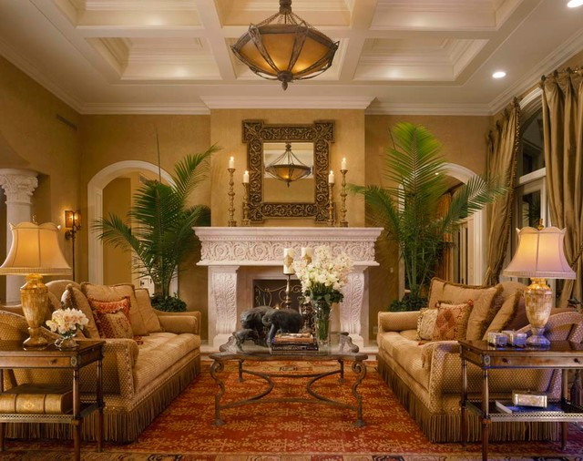 Moroccan mediterranean madness mediterranean living for Interior design living room elegant