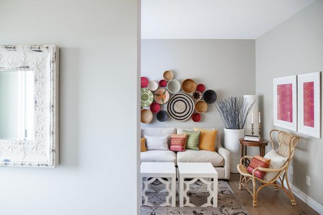 Moroccan Modern Mediterranean Living Room