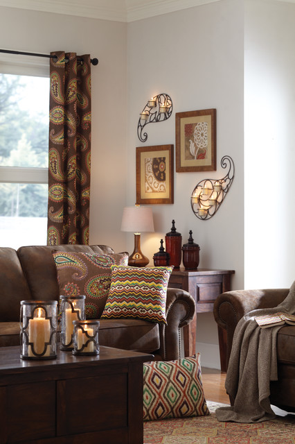 moroccan paisley home decor collection  transitional
