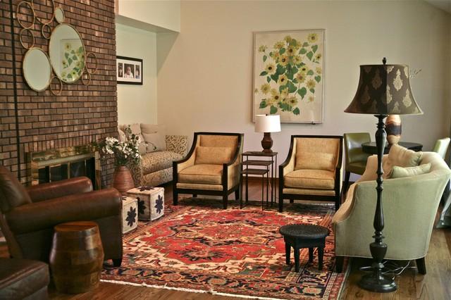 Morristown Tudor Living Room/Entry traditional-living-room