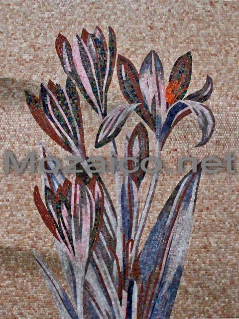 Glass Mosaics vases