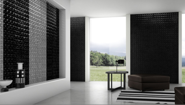 Mosaico+ from Royal Stone & Tile contemporary-living-room