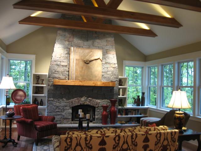 Moss Creek Living Room contemporary-living-room