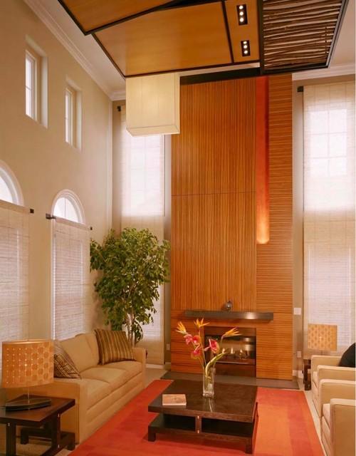 Moss Tree Way Residence modern-living-room