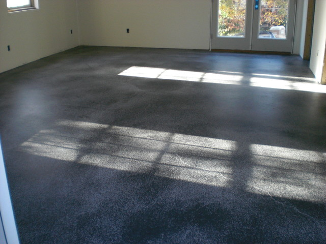 Interior concrete floors living room other metro by - Interior concrete floor resurfacing ...