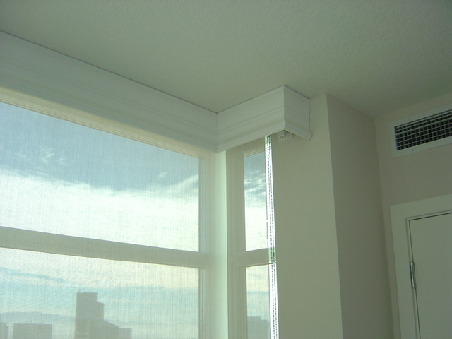 Motorized Roller Shades Allow Privacy When You Want It