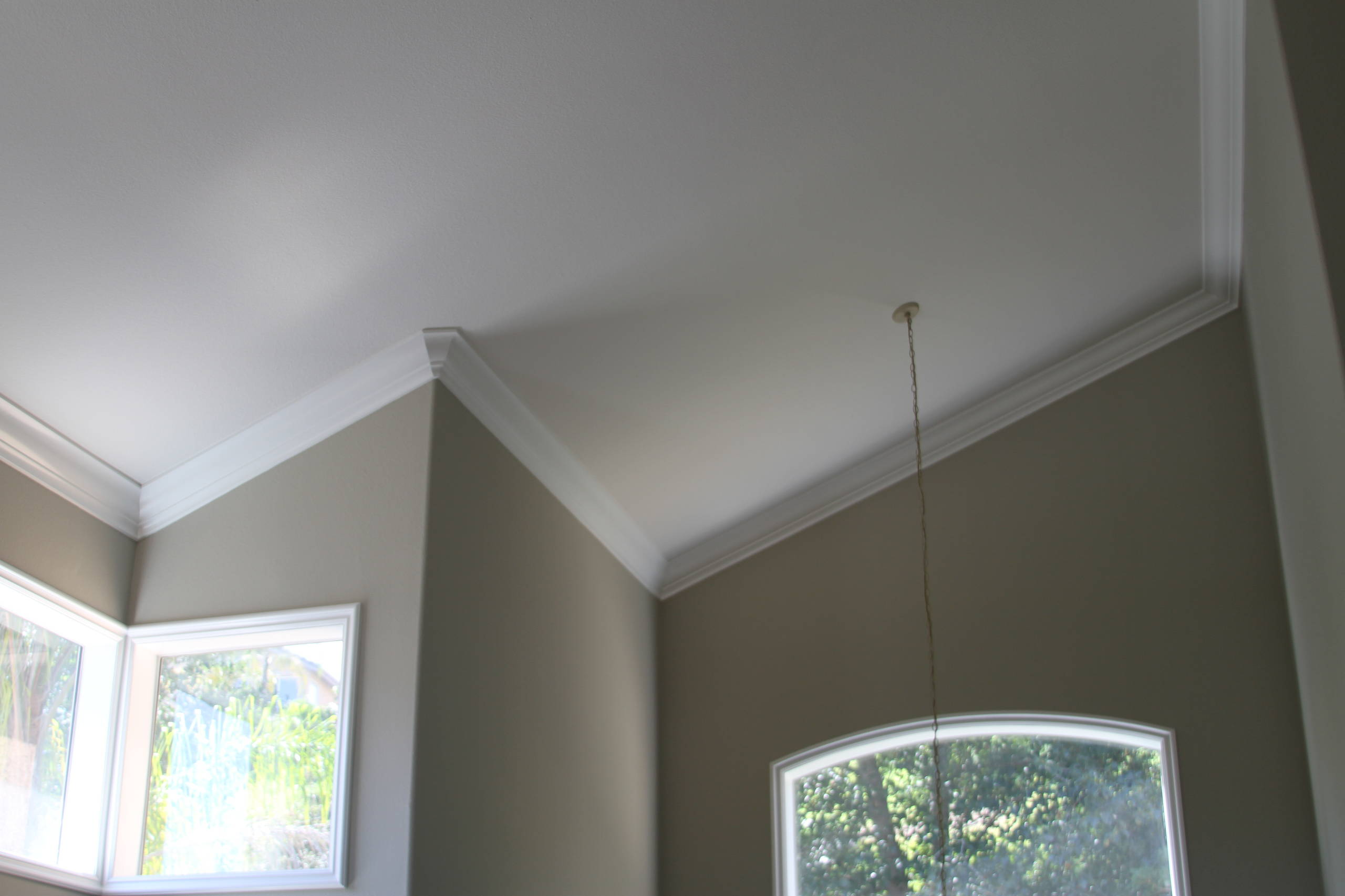 Vaulted Ceilings Crown Moulding Houzz