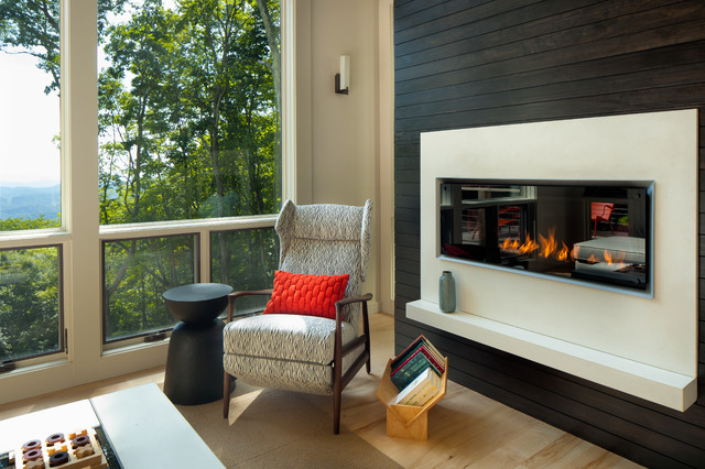 Mountain Contemporary In Western NC Contemporary Living Room Other By