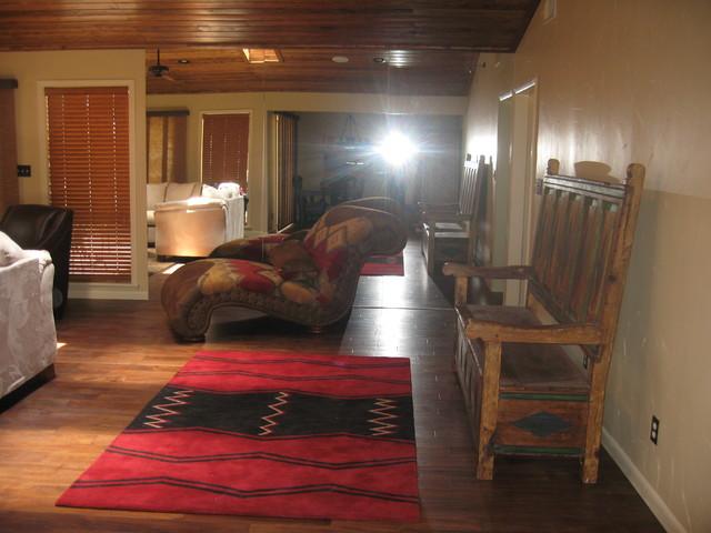 Mountain Home living-room