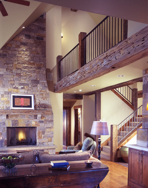 Mountain Modern Traditional Living Room Other By