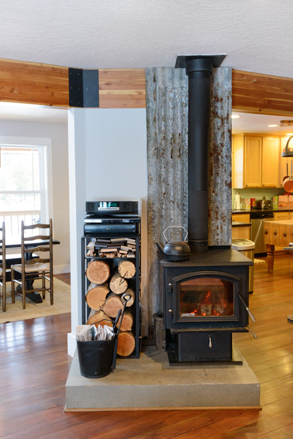 mountain primitive modern eclectic living room seattle by