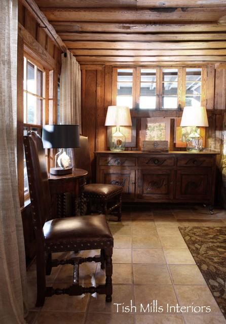 Village interior design llc interior designers decorators - Mountain Retreat Rustic Living Room Other By
