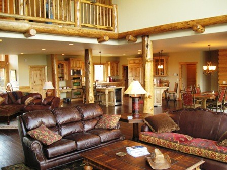 Mountain Rose traditional-living-room
