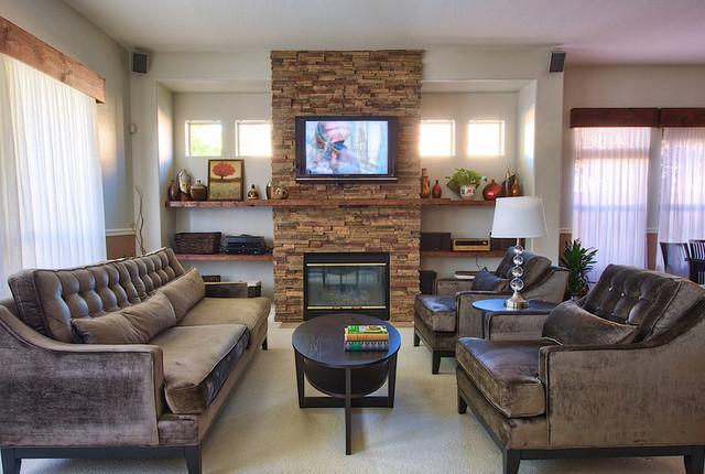 Mr Veneer modern-living-room