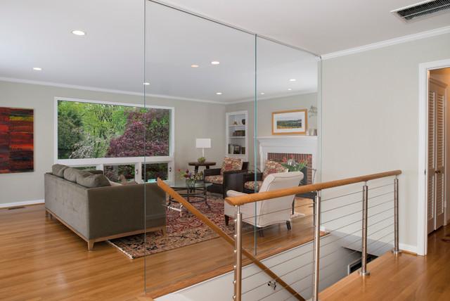 Multi-Room Remodeling - Arlington, VA modern-living-room