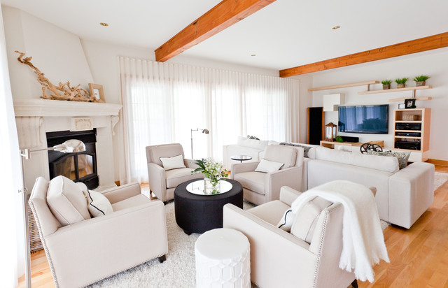 Multifunctional Living Room Transitional Living Room