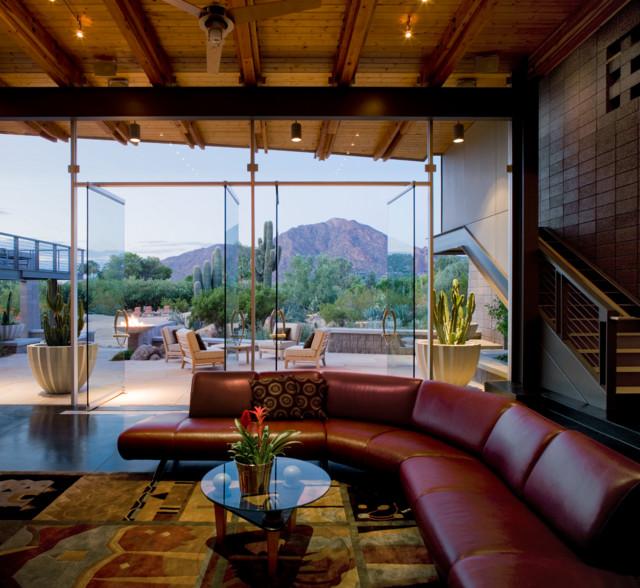 Mummy Mountain contemporary-living-room