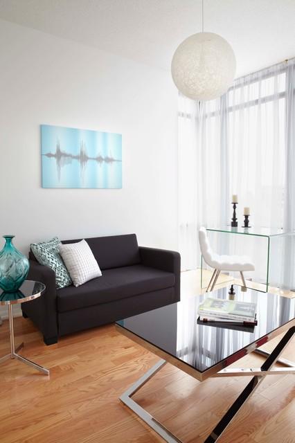 murano condo suite calgary contemporary living room