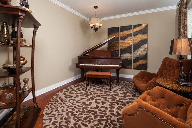 Music Room traditional-living-room