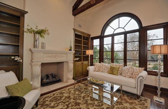 Musket Rim Listing traditional-living-room