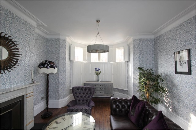 Superbe Interior Designers. Muswell Hill N10: Victorian Terraced House Living Room