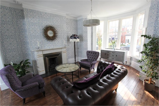 Interior Designers. Muswell Hill N10: Victorian Terraced House Living Room