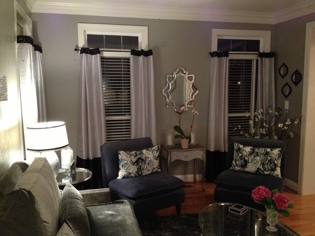 My 50 Shades Of Gray Living Room