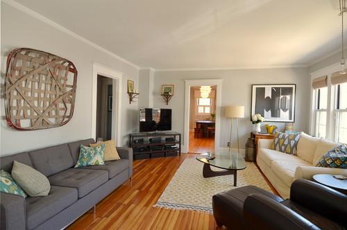 Can i see pics of your room painted bm stonington gray Benjamin moore stonington gray living room