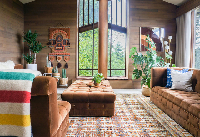 My Houzz 1970s Boho Style In The Pacific Northwest